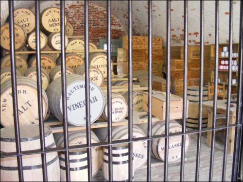 Civil_War_rations storeroom