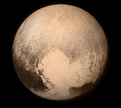 Pluto on 14 July 2015