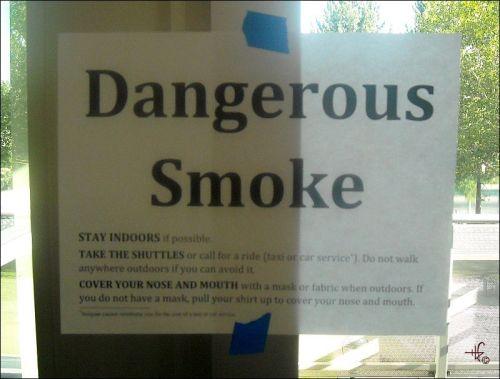dangerous smoke
