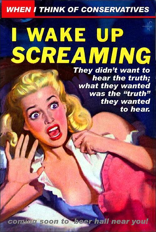gop screaming