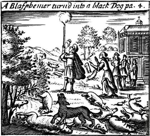 A-Blasphemer-turned-into-a-black-dog