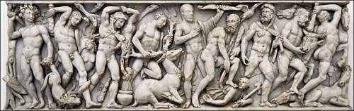 Labors of Heracles Rome mid 3rd cent CE PD