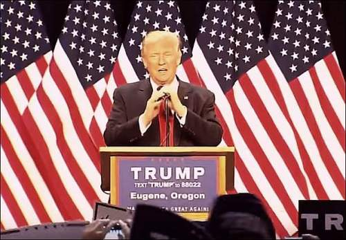 Donald Trump eugene oregon