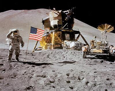 astronautflag