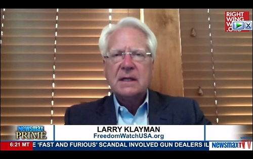 Klayman says King George III better than Clintons