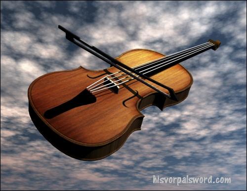 Digital Visualization of a Violin