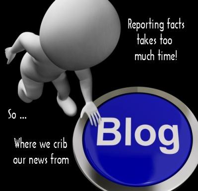 Blog Button For Blogger Or Blogging Websites