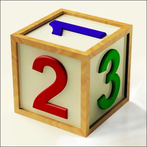 Kids Number Block