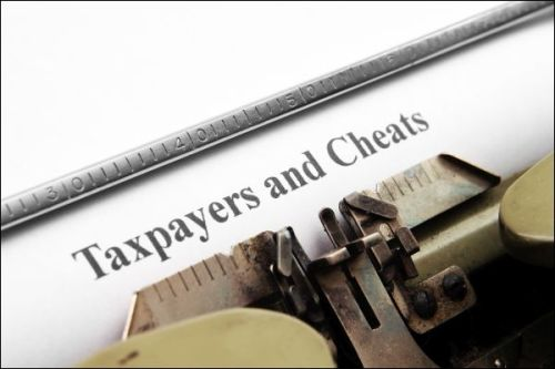Taxpayers and cheats