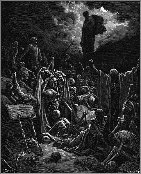 Valley of the Dry Bones, Gustave Dore