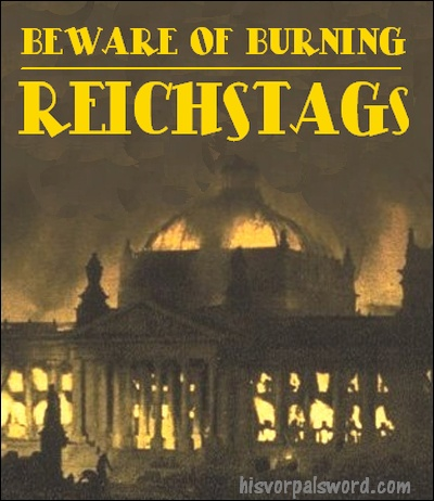 burning reichstags