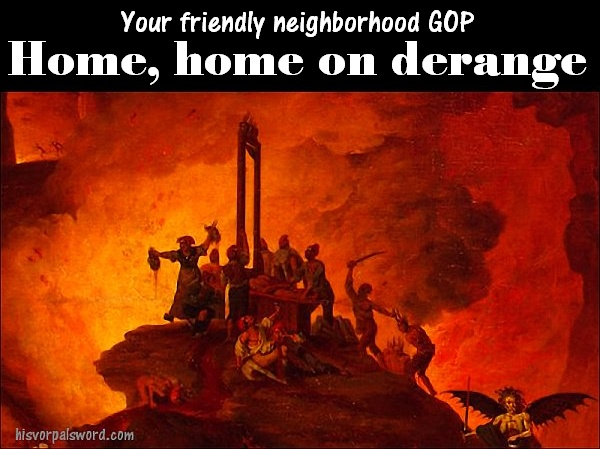 GOP home on derange