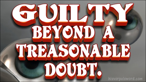 GUILTY treason