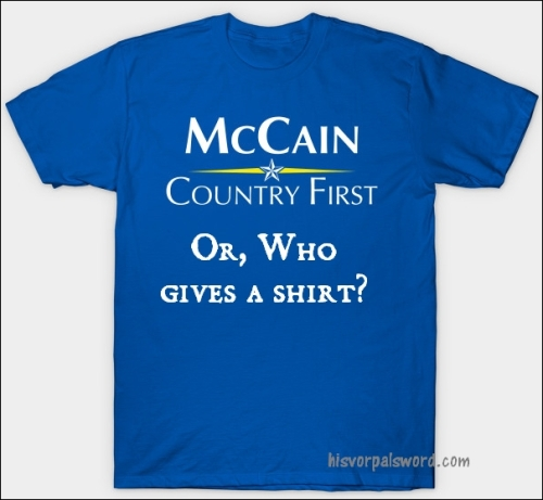 country first mccain