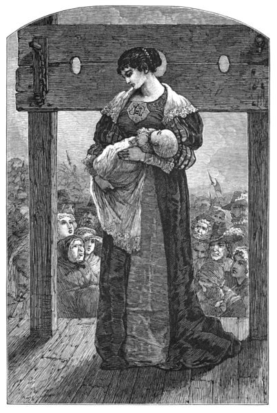 The Scarlet Letter illustration by Mary Hallock Foote 1850