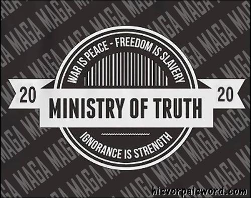 1984 2020 MAGA ministry