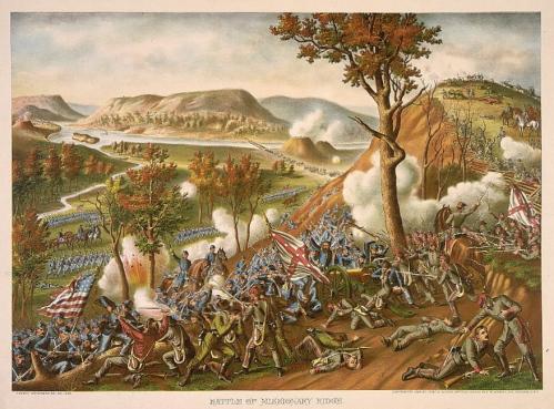Battle of Missionary Ridge Kurz_&_Allison