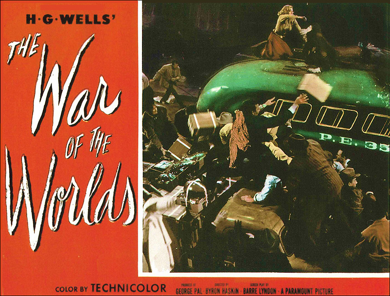 war of the worlds 1953 lobby card